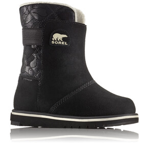 Sorel Kids Rylee Boots Black/Light Bisque